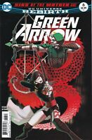 GREEN ARROW #6 2016 unread Juan Ferreyra Cover DC Comics 1ST PRINT Percy Rebirth
