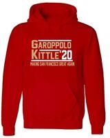 Jimmy G Garoppolo George Kittle San Francisco 49ers 2020 HOODED SWEATSHIRT