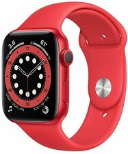 Apple Watch Series 6 44mm Product Red Aluminum Case Red Sport Band GPS ONLY NEW!