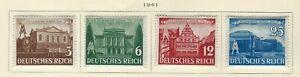GERMANY - 1941 SPRING FAIR IN LEIPZIG MINT SET MH