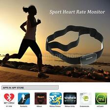Bluetooth 4.0 Wireless Sport Heart Rate Monitor Chest Strap Band Fitness