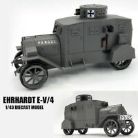 GERMAN Ehrhardt E-V/4 1/43 DIECAST MODEL FINISHED TANK ATLAS