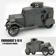 GERMAN Ehrhardt E-V/4 1/43 DIECAST MODEL FINISHED TANK ATLAS