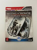 Prima Medal Of Honor European Assault Official Game Guide - GC