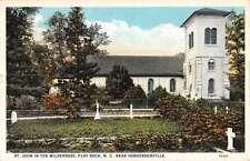 Flat Rock North Carolina St John In The Wilderness Antique Postcard K39200
