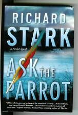 ASK THE PARROT by R Stark, rare US MP crime noir Parker hardcover in dust jacket