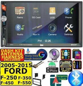 2005-15 FORD F250/350/450/550 BLUETOOTH USB SD AUX CAR RADIO