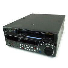SONY Digital Video Cassette Recorder Betacam DVW-M2000 *34,240 Operation Hours