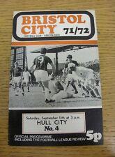 11/09/1971 Bristol City v Hull City  (Rusty Staples)