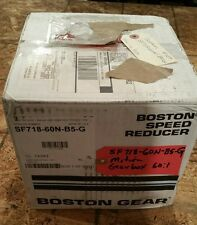 Boston Worm gear reducer 60:1 Ratio SF718-60N-B5-G  #1388W