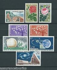 FRANCE - 1962 YT 1355 à 1362 - TIMBRES NEUFS** LUXE