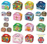 10 x Farm Treat Boxes Cupcake Gift Party Loot Bag Children Birthday SB127