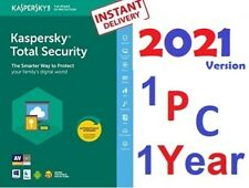 Antivirus KASPERSKY TOTAL SECURITY 2021 1 PC 1 Year ⚡WIN⚡️VFast Delivery @email⚡