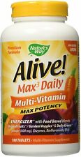 Alive! Whole Food Energizer Multivitamin, Nature's Way, 180 without Iron