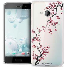 Coque Crystal Gel Pour HTC U Play Extra Fine Souple Summer Sakura