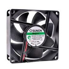 SUNON ME80251V4-Q03U-AA9 9V 0.55W 80*80*25MM 8CM 2Pin Cooling Fan
