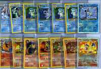 POKEMON (16) CARD LOT 1ST EDITIONS HOLO FOILS SHADOWLESS +CHARIZARD GUARANTEED!