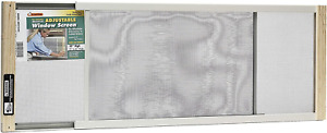 Frost King WB Marvin AWS1045 Adjustable Window Screen, 10in High x Fits 25-45in