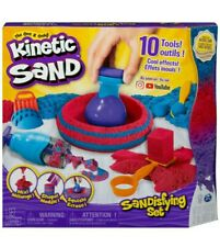2 lb Kinetic Magical Flowing Sand w/Tools Sandisfying Mix Shape Squish PlaySet #