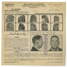 FBI Wanted Sheet - Grant H. Turley - Impersonation - OK - 1948