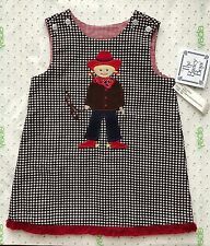 NWT THE BAILEY BOYS GIRL'S REVERSIBLE COWGIRL JUMPER SIZE 18 MONTHS