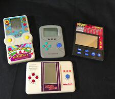 Old Vtg Radio Shack Handheld Video Game Lot Pinball, Pinball Master, IQ And Slot