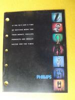PHILLIPS CATALOG WIRE CABLE ELECTRICAL ACCESSORIES 1990'S