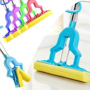 Sponge Mop Super Absorbent Cleaning Laminate Floor Telescopic Sponge Handle