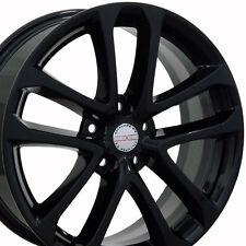 "18"" Black Altima Style Wheels 18x7.5 Set of 4 Rims Fit Nissan CP"