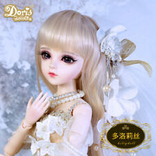 "24"" 1/3 BJD Doll Handmade Girls Eyes Face Makeup Wig Clothes Shoes Set XMAS GIFT"