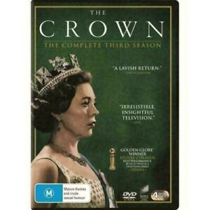 THE CROWN SEASON 3 DVD, NEW & SEALED, 2020 RELEASE, FREE POST