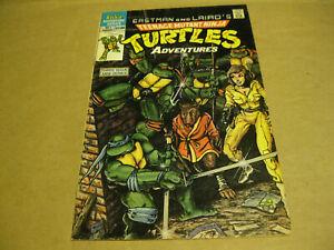Teenage Mutant Ninja Turtles Adventures Archie Comics Mini Series 1-3 1988 TMNT