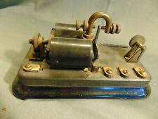 "Antique Western Electric Telegraph Sounder No 21 A 100 OHMS 7 1/2"" x 4"" phone"