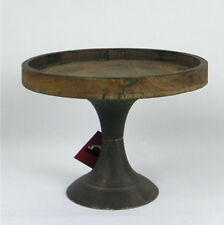 Rustic Wooden Cake Stand 40cm