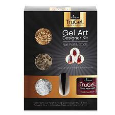 EzFlow TruGel Gel Art Designer Kit - Nail Foil & Studs 42550