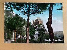 Cartolina Verucchio Rimini la Rocca viaggiata
