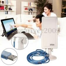 WiFi Antenna Long Distance Range Wireless Extender Booster Repeater USB Adapter