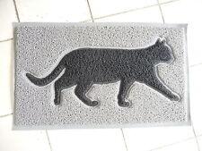 NEU Retro Haus Garten Fußboden Matte Türmatte Katze Gummi 74x45cm Antik Stil NEU