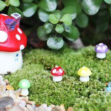 Mini seta setas jardín macetas en miniatura de color Hada Dekofigur Gartendeko
