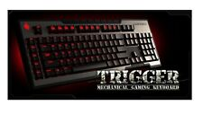 Cooler Master - Storm Trigger Mechanical Gaming Keyboard CherryMX USB+Wrist Rest