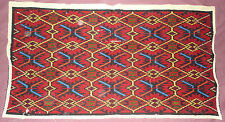 #319  Beautiful Vintage Hand Embroidered Tapestry 40.5''/23''(103cm/58cm)