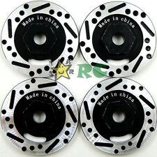 4pcs 1/10 RC Alloy Aluminum Brake Disc Hex Adapter Fit RC Car Hex 12mm Wheel Hub
