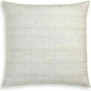 Set of 2 Hotel Collection Woodrose Quilted Cotton Euro Pillow Shams