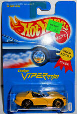 Hot Wheels 1991 DODGE VIPER RT/10 w/Gold UHs (Yellow) #210