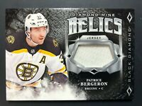 2018-19 Black Diamond Mine Relics Jersey Patrice Bergeron