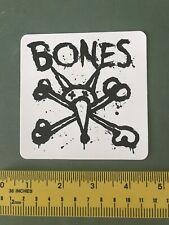 bones skateboard sticker