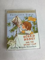 Horrid Henry And The Secret Club Audio Cassette Tape Miranda Richardson  1hour