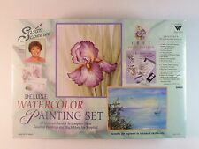 Susan Sue Scheewe Deluxe Watercolor Painting Set by Weber S8900 with VHS video