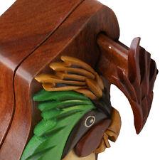 Parrot Handmade Secret Puzzle Box