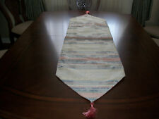 """TAPESTRY  FABRIC TABLE  RUNNER  SIZE 15"""" x 61"""" INCHES  LQQK"""